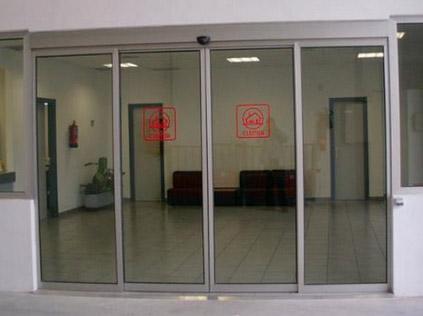 Puertas de cristales puertas autom ticas murcia por doormu - Puertas automaticas en murcia ...